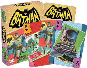 Batman Classic TV Series (2) set of 52 playing cards + Jokers (nm)